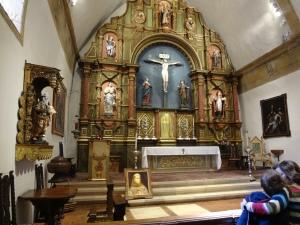 The Chapel where Saint Junípero Serra is buried.